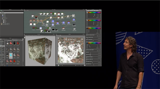 Elliott Mitchell speaking about Shader Forge at Unite 2014